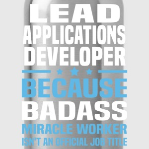 Lead Applications Developer Tshirt - Water Bottle