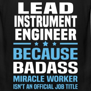 Lead Instrument Engineer Tshirt - Men's Premium Tank