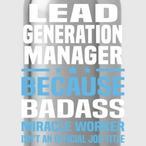 Lead Generation Manager Tshirt - Water Bottle