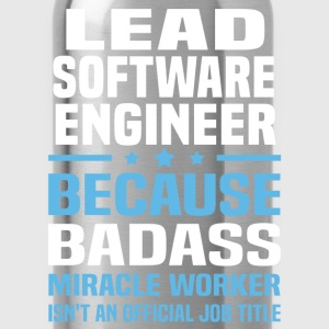 Lead Software Engineer Tshirt - Water Bottle