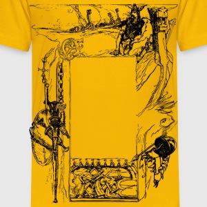 Viking Courage Frame - Toddler Premium T-Shirt