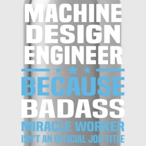 Machine Design Engineer Tshirt - Water Bottle