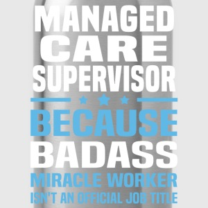 Managed Care Supervisor Tshirt - Water Bottle