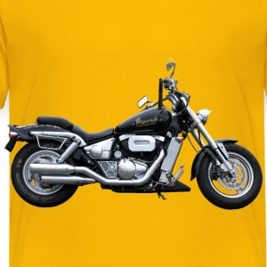 Heavy Duty Motorcycle - Toddler Premium T-Shirt