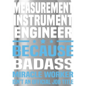 Measurement Instrument Engineer Tshirt - Water Bottle