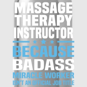 Massage Therapy Instructor Tshirt - Water Bottle