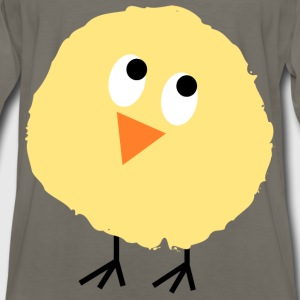 Fluffy chick 3 - Men's Premium Long Sleeve T-Shirt