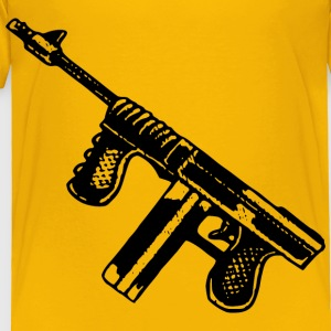 Simple Tommy Gun - Toddler Premium T-Shirt