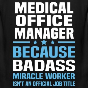 Medical Office Manager Tshirt - Men's Premium Tank