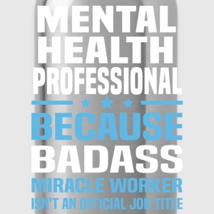 Mental Health Professional Tshirt - Water Bottle