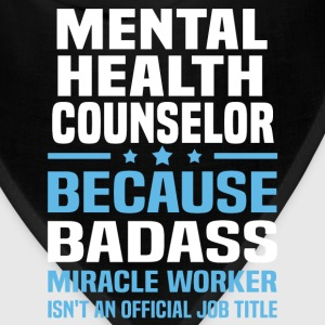 Mental Health Counselor Tshirt - Bandana
