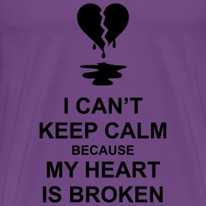 Broken Heart Hoodies - Men's Premium T-Shirt