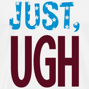 just ugh buttons - Men's Premium T-Shirt