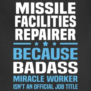 Missile Facilities Repairer Tshirt - Adjustable Apron