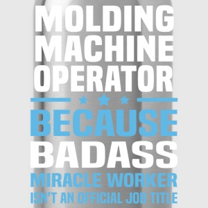 Molding Machine Operator Tshirt - Water Bottle