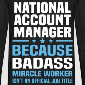 National Account Manager Tshirt - Men's Premium Long Sleeve T-Shirt
