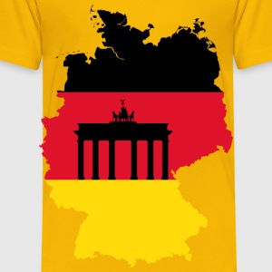 Germany Map Flag 2 - Toddler Premium T-Shirt