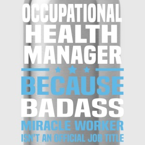 Occupational Health Manager Tshirt - Water Bottle