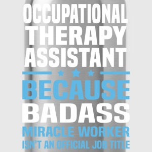Occupational Therapy Assistant Tshirt - Water Bottle