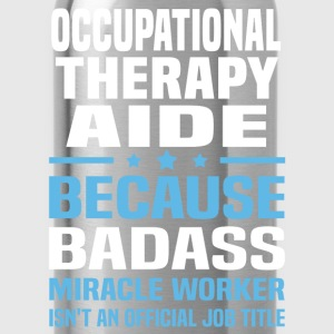 Occupational Therapy Aide Tshirt - Water Bottle