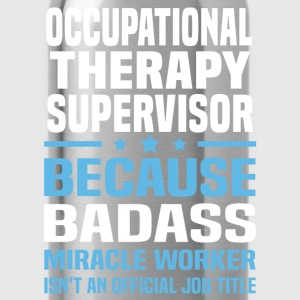 Occupational Therapy Supervisor Tshirt - Water Bottle