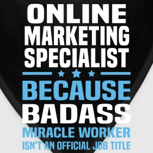 Online Marketing Specialist Tshirt - Bandana