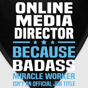 Online Media Director Tshirt - Bandana