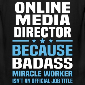 Online Media Director Tshirt - Men's Premium Tank