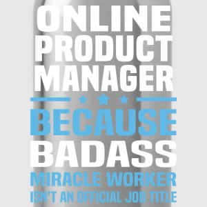 Online Product Manager Tshirt - Water Bottle