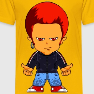 Cartoon man 2 - Toddler Premium T-Shirt