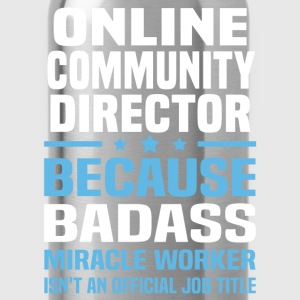 Online Community Director Tshirt - Water Bottle