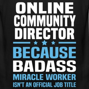 Online Community Director Tshirt - Men's Premium Tank