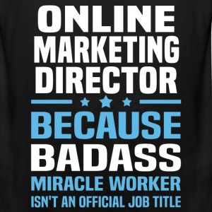Online Marketing Director Tshirt - Men's Premium Tank
