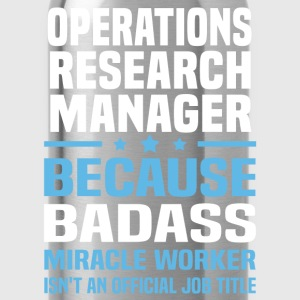 Operations Research Manager Tshirt - Water Bottle