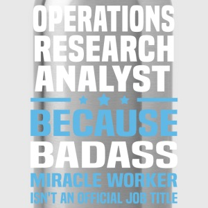 Operations Research Analyst Tshirt - Water Bottle
