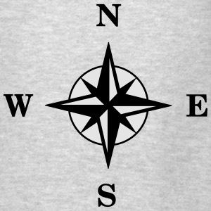 Compass Hoodies - Men's T-Shirt