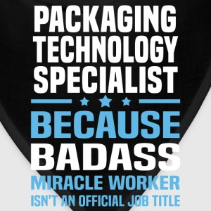Packaging Technology Specialist Tshirt - Bandana