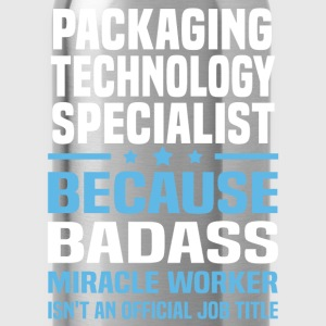 Packaging Technology Specialist Tshirt - Water Bottle