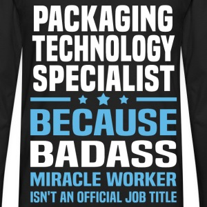 Packaging Technology Specialist Tshirt - Men's Premium Long Sleeve T-Shirt