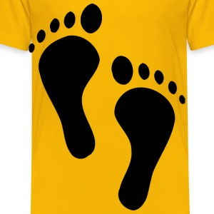 Feet - Toddler Premium T-Shirt