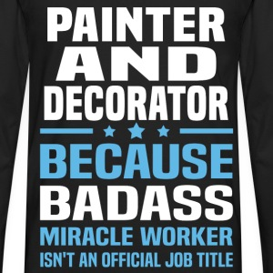 Painter And Decorator Tshirt - Men's Premium Long Sleeve T-Shirt