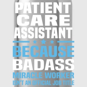Patient Care Assistant Tshirt - Water Bottle