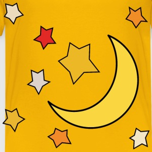 Moon and stars 1 - Toddler Premium T-Shirt