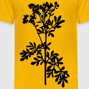 Common rue (silhouette) - Toddler Premium T-Shirt