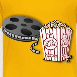 Hot POPcorn And A Movie! Remix - Toddler Premium T-Shirt