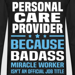 Personal Care Provider Tshirt - Men's Premium Long Sleeve T-Shirt