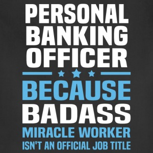 Personal Banking Officer Tshirt - Adjustable Apron