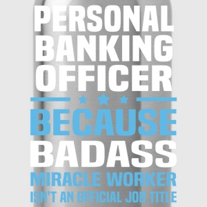 Personal Banking Officer Tshirt - Water Bottle