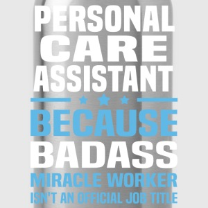 Personal Care Assistant Tshirt - Water Bottle