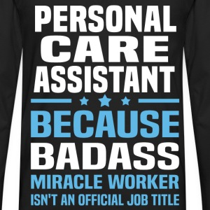 Personal Care Assistant Tshirt - Men's Premium Long Sleeve T-Shirt